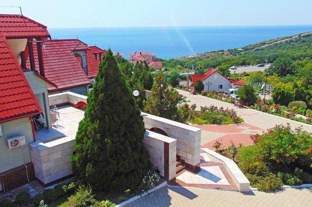 отель Аквамарин, Анапа