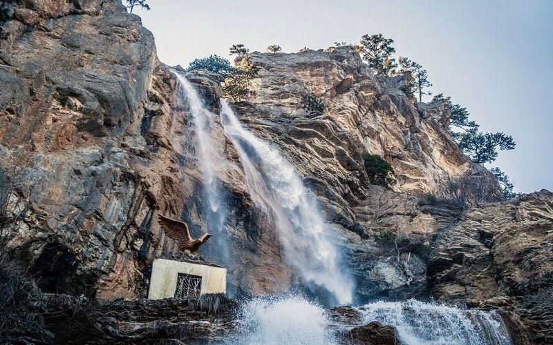 водопад Учан Су, Ялта