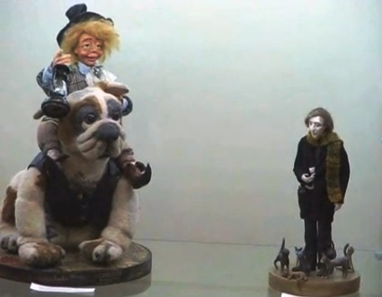 музей Грина, Феодосия, выставка кукол